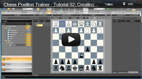 Chess Position Trainer Video Tutorials available